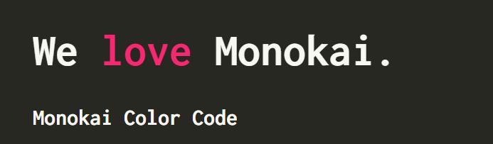 monokai